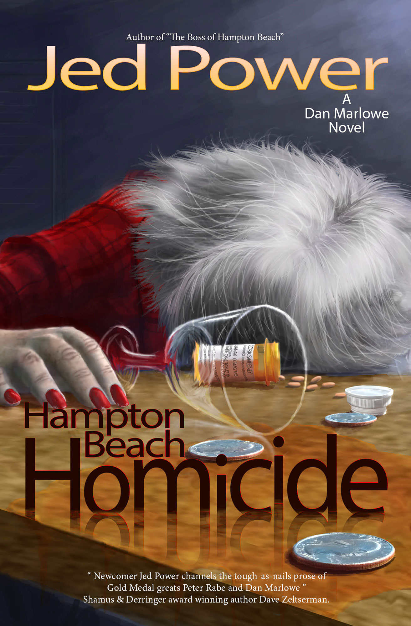 Hampton Beach Homicide: A Dan Marlowe Novel(Book 2)