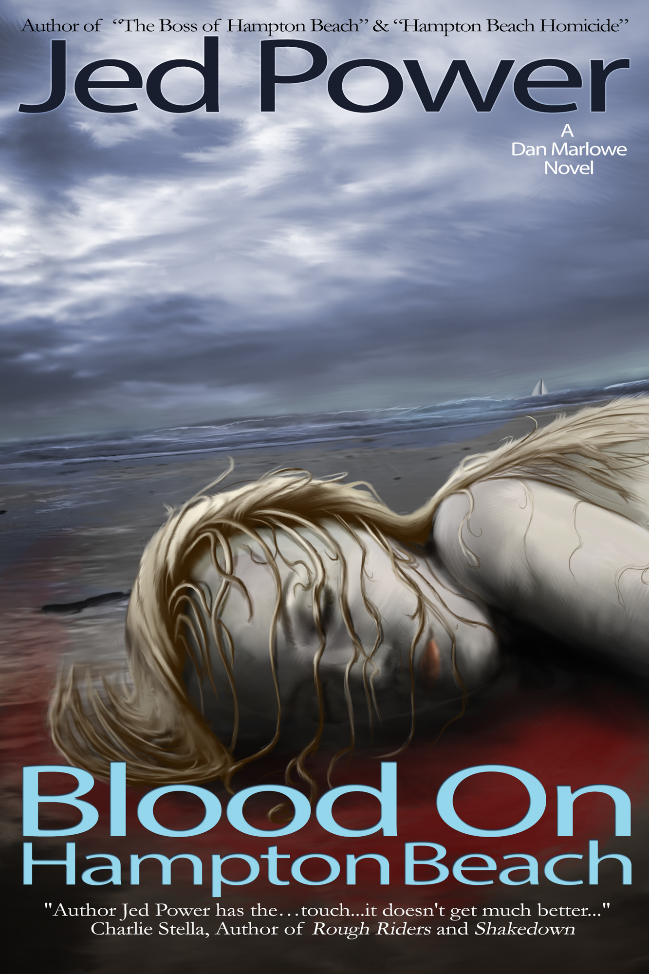 Blood on Hampton Beach: A Dan Marlowe Novel (Book 3)