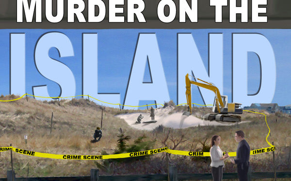 Murder On The Island: 5th Dan Marlowe Novel